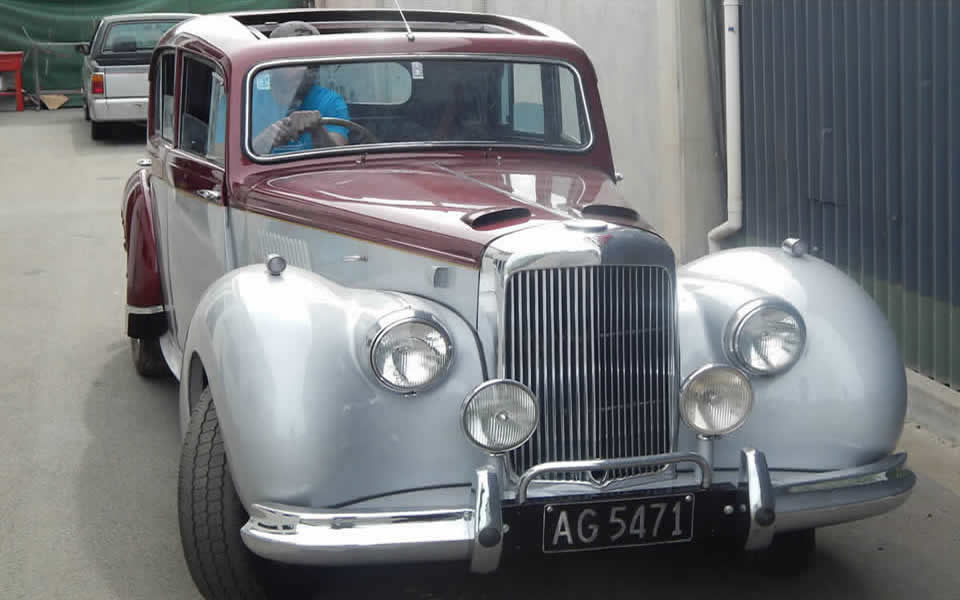 Alvis Grey Lady Restored By Marlborough Classic And Custom Restorations
