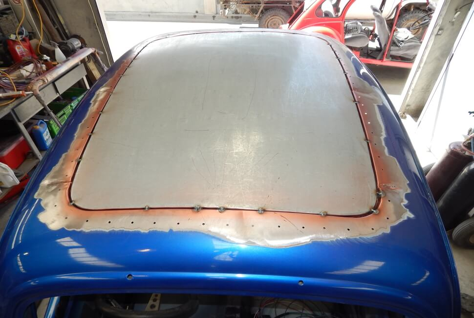 Roof Insert Fitted To Ford Pop (1)