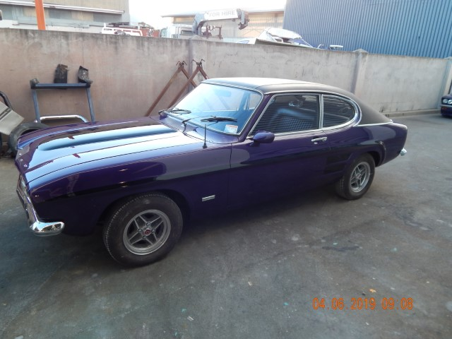 1972 Ford Capri Panel & Paint Finished By Marlborough Classic & Custom Restoration