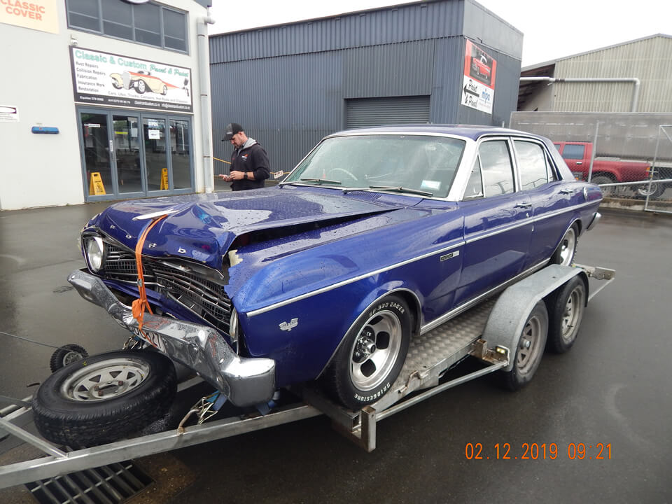 Au Falcon Collision Repair By Marlborough Classic And Custom Restorations NZ