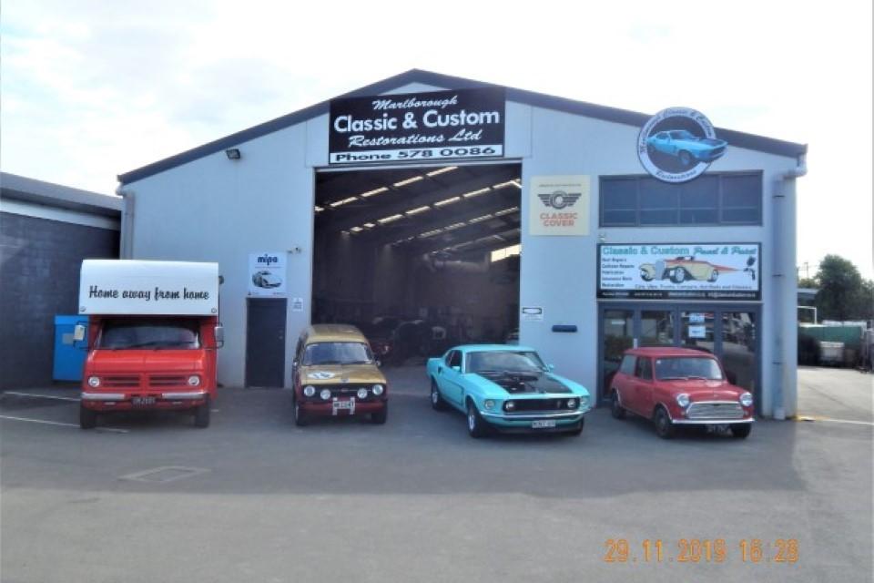 Workshop Of Marlborough Classic And Custom Restorations