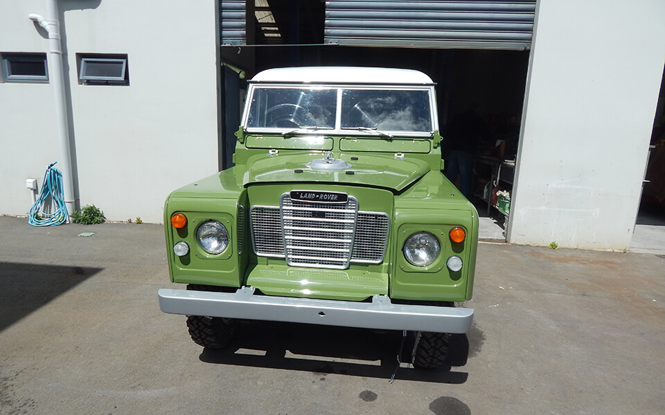 1976 Landrover 88 Pick up